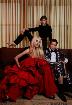 Candice, Maria and Anton on Alem Mag