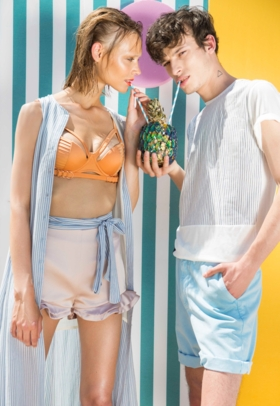 Aline and Sall on Cosmo Summer June'16