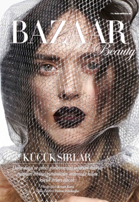 Dovile on Harper's Bazaar Wedding Beauty March'17