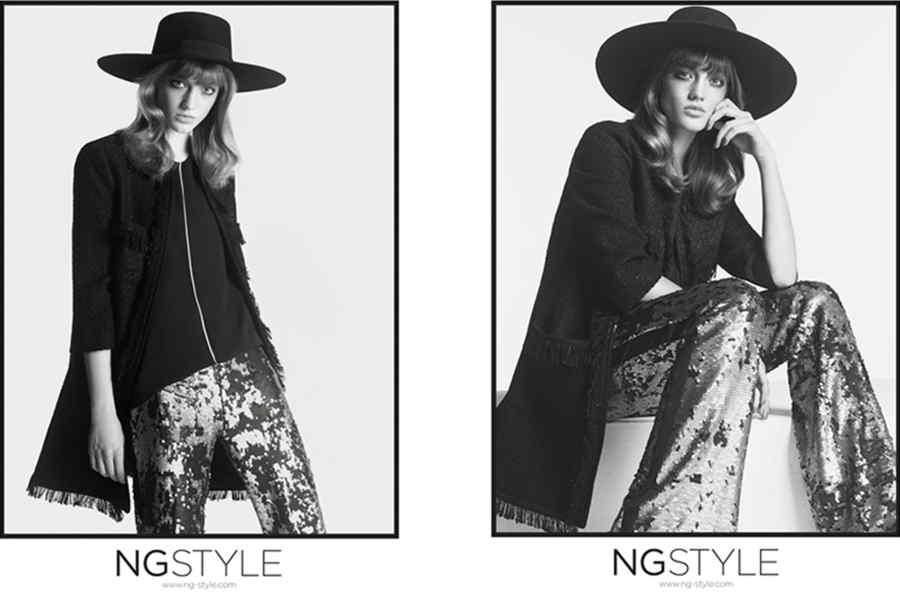Stefani  for NG STYLE  AW 14