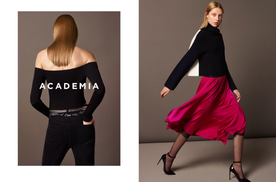 Lucie Stoll for Academia AW'17