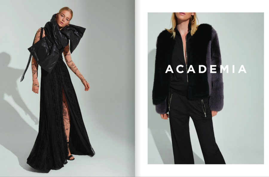 Isabeau for BEYMEN Academia Collection FW1617